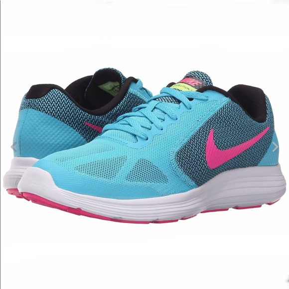 3a7cd52a71 Nike Shoes | Nib Revolution 3 Girls Youth 6 Womens 75 | Poshmark